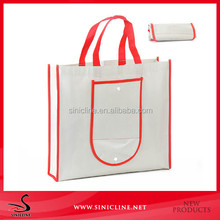 reusable foldable shopping non woven bag