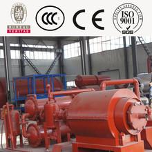 Ingenieros en el extranjero producto de caucho manufacure pirólisis máquina