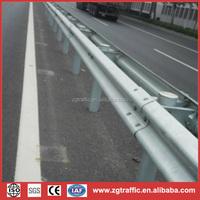 steel guard rail dimentions