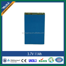 Maintenance free 3.7V 14Ah NMC battery electric car battery