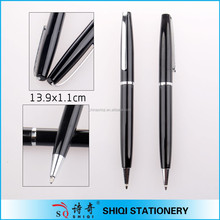High quality Promotional black Metal Pen With Logo