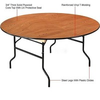 18mm Plywood Banquet Folding Table