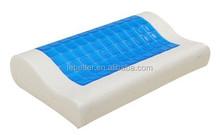 Memory foam contour gel pillow