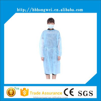 Non-woven surgical gown /disposable sterile medical clothes