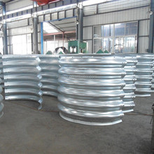 corrugated steel pipe and liner plates, corrugated steel pipe with hot dipped galvanization