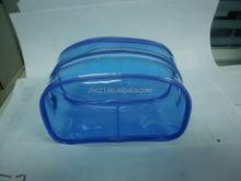 REACH standard PVC travel pack plastic cosmetic bags