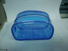 REACH standard pvc travel pack plastic cosmetic bags