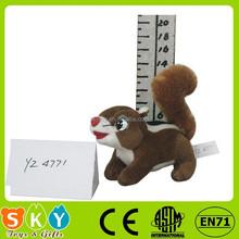 Wholesale ICTI SEDEX custom Plush Toy animal squirrel