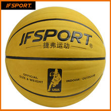 offical size7# cow leather basketball