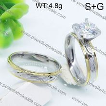 chinese wholesaler Cheap gothic skull ring mother of pearl engagement rings