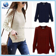 Women's Casual Long Sleeve Knitwear Jumper Cardigan Long Coat Jacket Sweater New