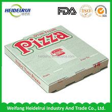 package materials 2C 3-Layer B-Flute Flexo logo pizza box