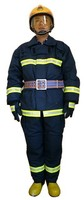 Custom-made comfortable fire suit,permanent flame retardant,100% cotton