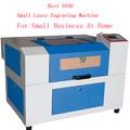 4040 pequena de madeira baratos mini 3d foto de cristal da gravura do laser da máquina para venda