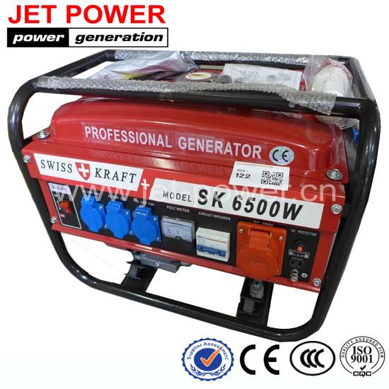 Low price SWISS KRAFT SK generator / portable 8500W gasoline generator