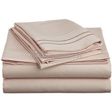 1800 Thread Count Cheap Microfiber Bed Sheet sets/ embroidery bedding set