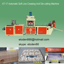 automatic CN creasing and die cutting machine