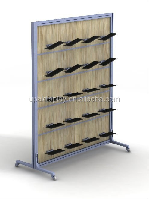 retail shoe rack display and wooden shoe store display