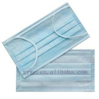 Disposable Medical/Surgical Protective 3ply Face Mask with ear loop