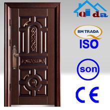 acero Seguridad puerta del hierro