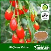 organic plant extract ning xia dried goji berry
