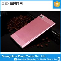 New Products Protective PC Back Cover and Metal Custom Cell Phone Case for Xiaomi mi3
