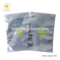 Printed Antistatic Reclosable Shielding Pouch Bag