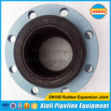 ISO certificate high quality sewage disposal rubber expansion joint