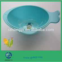 2015 PLA plastic easily carrying baby bowl