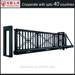 Stainless steel or Aluminum metal fence gate sliding
