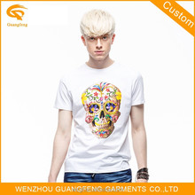Custom Made Breathable Cotton Man T Shirt For Wholesale