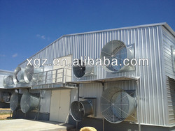 Industrial layer chicken poultry shed/making broiler chicken shed sandwich panel low cost/poultry farm shed for chicken house