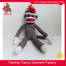 The new classic wool fabric high grade plush Sock monkey toy