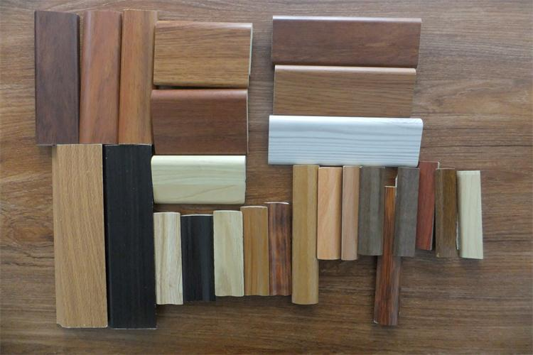 Pvc floor skirting mdf board fiber cement