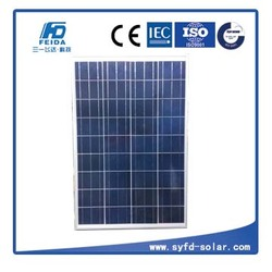 Best Selling Poly solar panel 100w 12v for cars