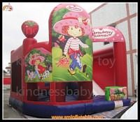 2015 commercial inflatable bouncer, air bouncer inflatable trampoline, variant theme bouncer with sliding and climbing lane