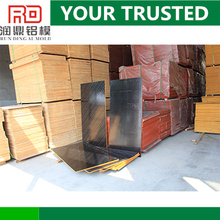 RD good price hot sale furniture useage walnut faced plywood for construction plywood formwork