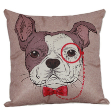 Hot Sale Decorative Throw Pillow Linen Cushion Cover
