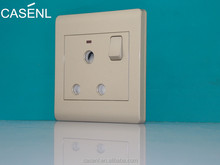 15 amp 1 gang switched socket/wall switch and socket