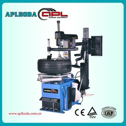 CE Tire Repair Equipment China Manufacture Assistant Swing Arm Helper Tyre/Tire Changer with Tilt Back
