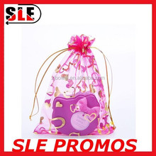 Cheap promotional yarn bag with drawstring bag from china