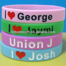 2013 Most Popular Silicone Bracelets