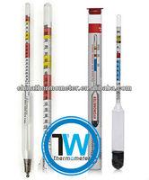 China hydrometer, wine hydrometer,alcohol hydrometer, alcoholometer