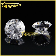 Alibaba china products 1.0mm to 25mm round cz white cubic zirconia stone