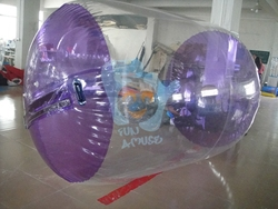 Inflatable water wheel used for sale