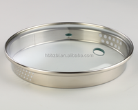 High quality tempered cookware glass spill-proof soup pot lid