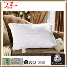 100% cotton washable wool pillow