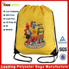Best Seller Custom Printing 210D Polyester Drawstring Bag, Custom Drawstring Bags