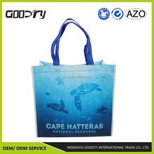 PET eco-friendly folding non woven shopping/promotional/tote bag with matt lamination