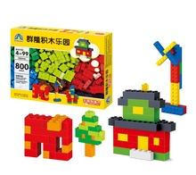 Compatible con la mayoría de bloques 800 unids bloques de construcción de Plástico